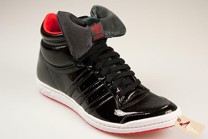 basket adidas noeud