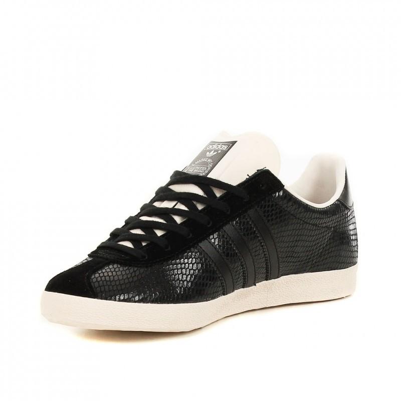 adidas gazelle noir croco