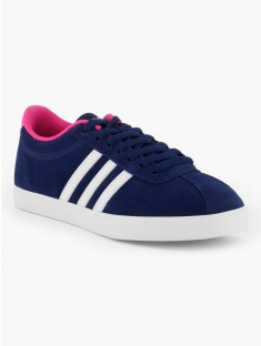 adidas neo bleu et rose