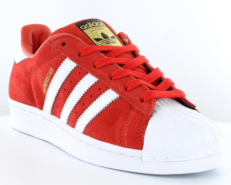 meilleures baskets a9c76 50b98 adidas superstar rouge et or