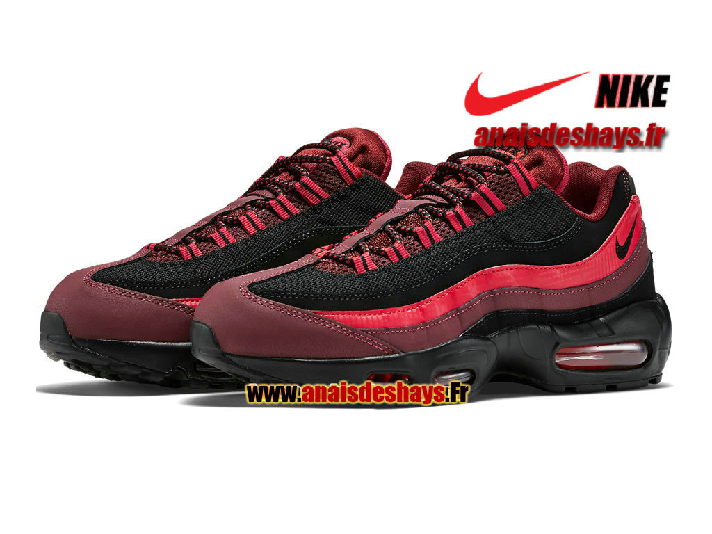 Chaussures De Running Nike Air Max 95 Ultra SE Rouge Homme