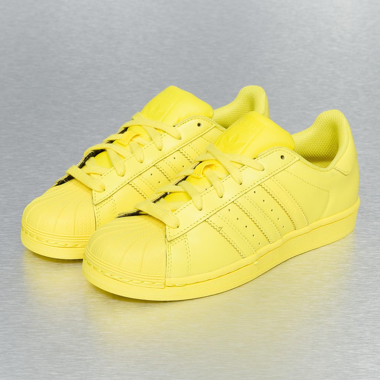 basket adidas jaune femme