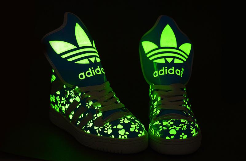 baskets lumineuses adidas
