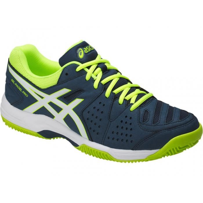 chaussure asics homme fluo