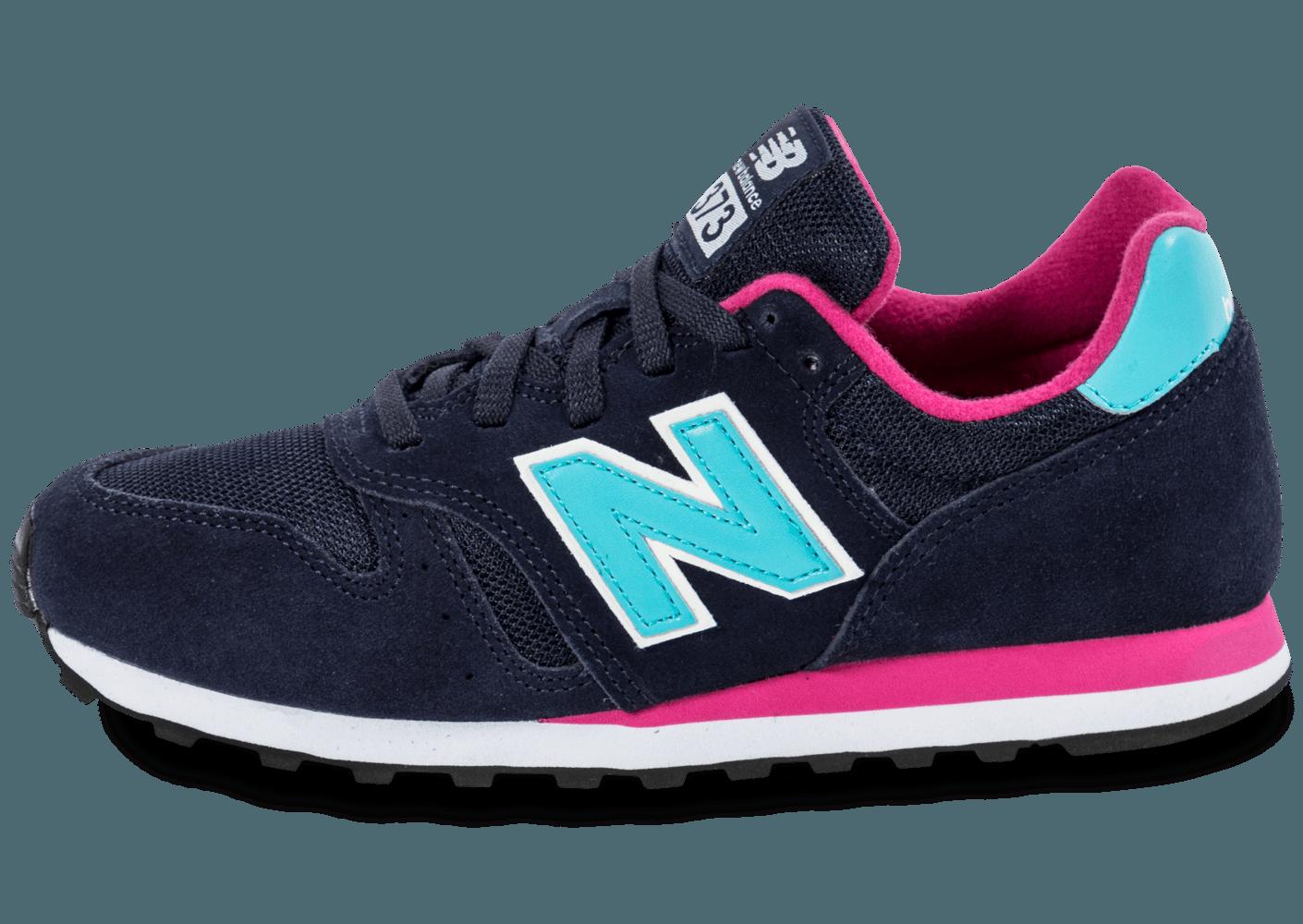 baskets pour pas cher 33488 ec35f new balance bleu et rose