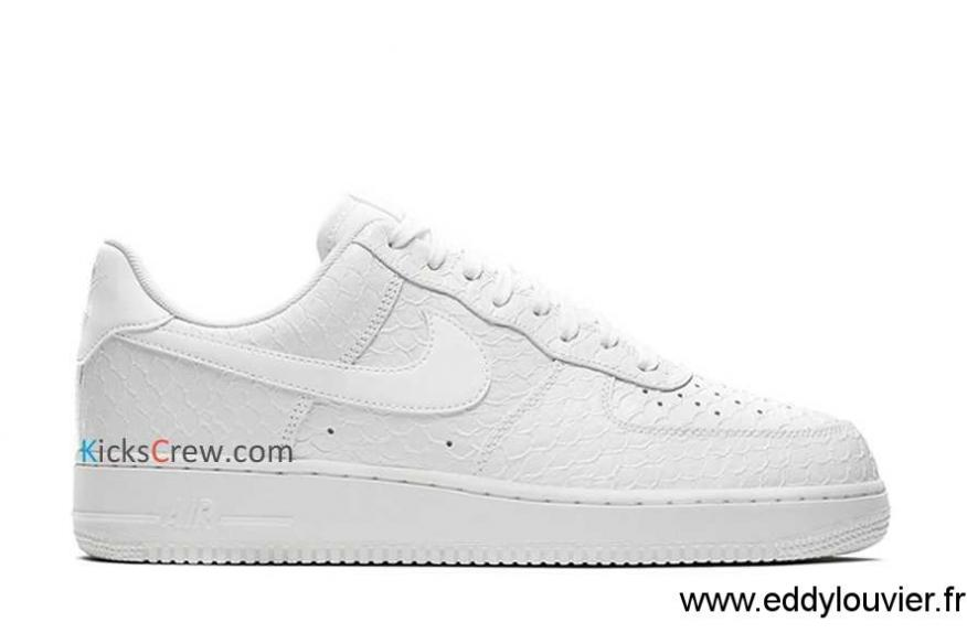 Nike Basket Homme Air Force 107 Blanche Taille 43