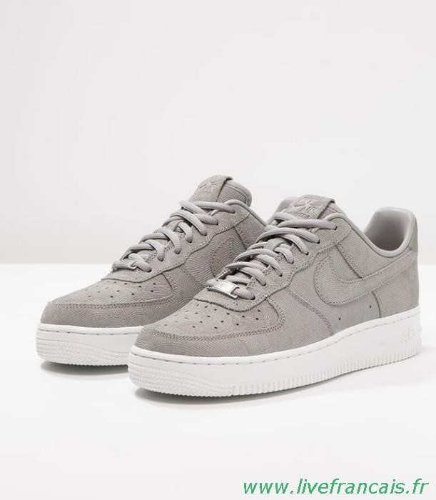 nike air force one grise femme