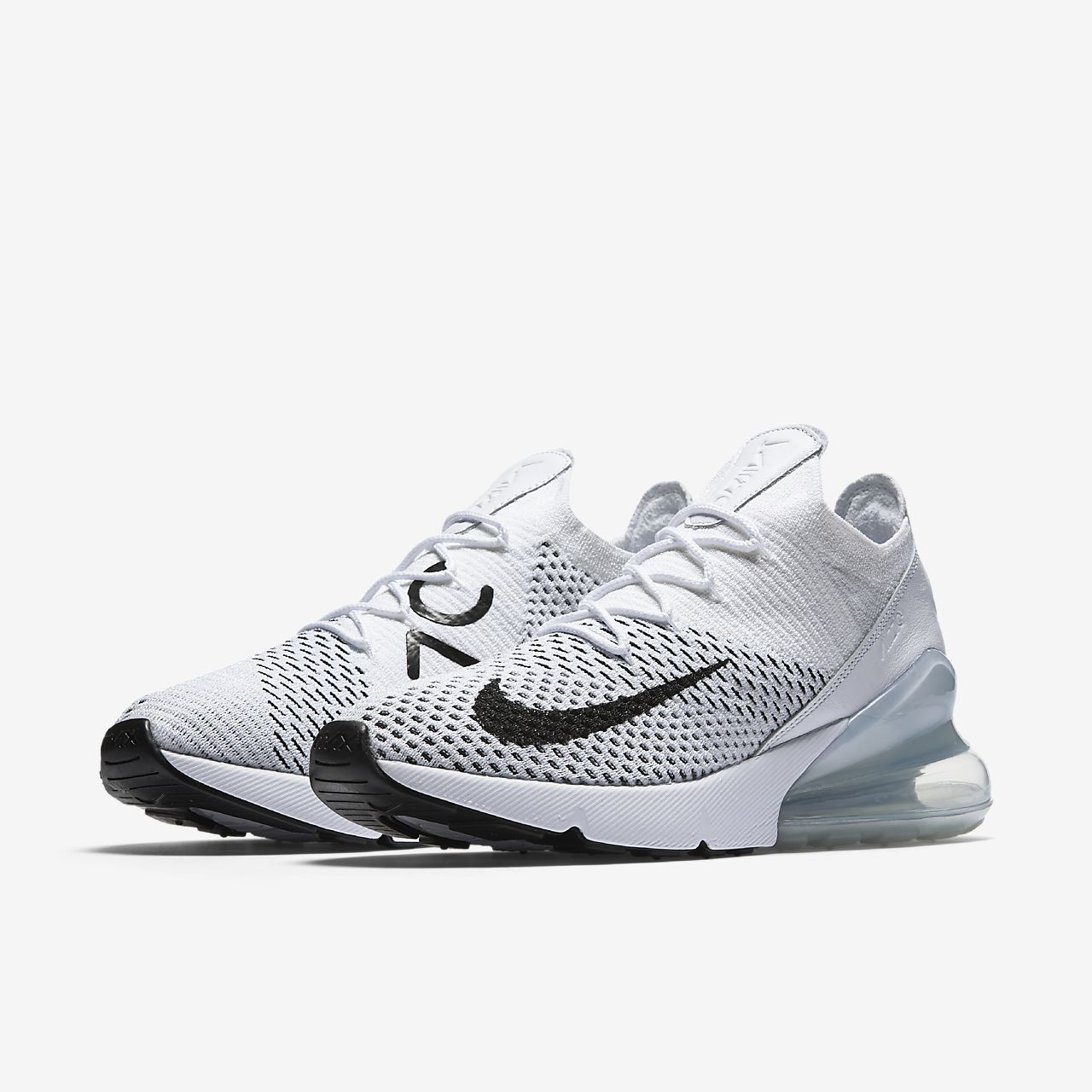 nike air max 270 flyknit blanche