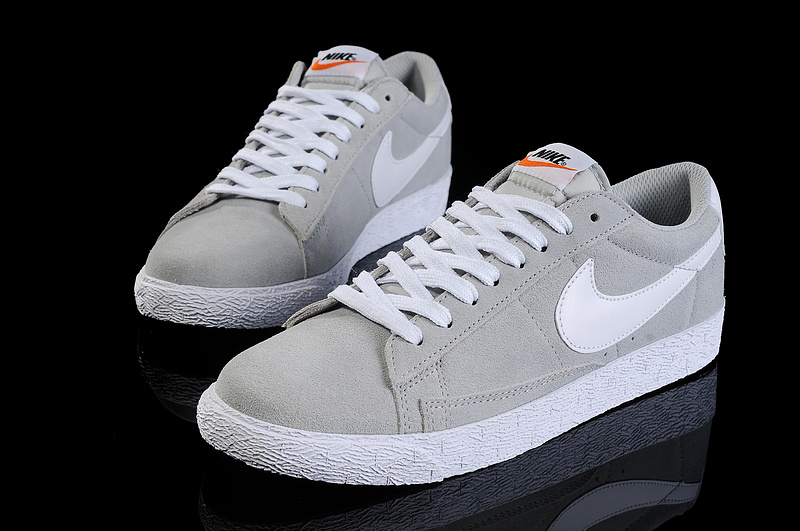 online for sale promo codes cheap price nike blazer low homme gris